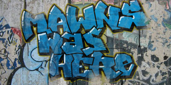 mawns graffiti filled 50 Awesome Graffiti Fonts