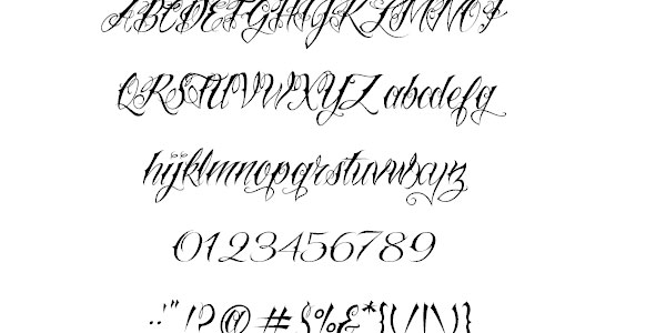 nuetattooscript 50 Awesome Graffiti Fonts