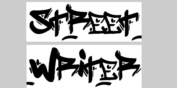 street writer 50 Awesome Graffiti Fonts