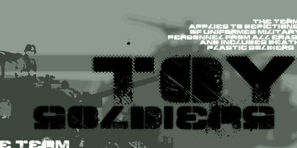 TOY_SOLDIERS font