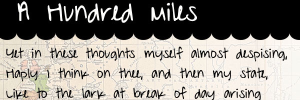 a hundred miles 25 Cool Handwriting Fonts