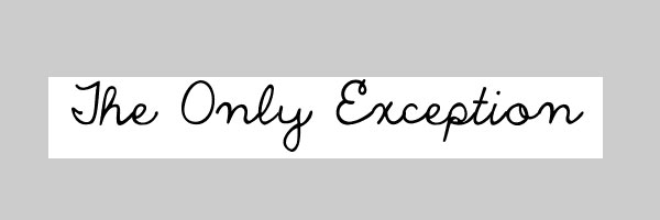 the only exception 25 Cool Handwriting Fonts