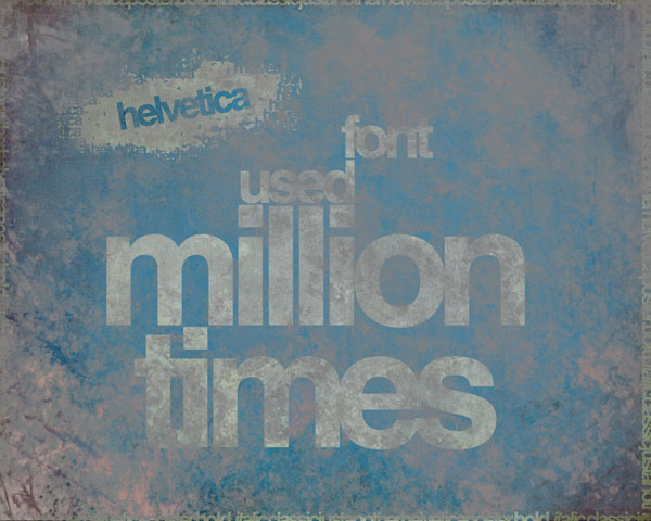 dusty helvetica All About Helvetica Font