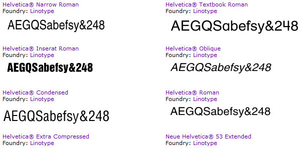font helvetica All About Helvetica Font