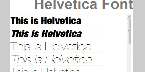 helvetica font download All About Helvetica Font