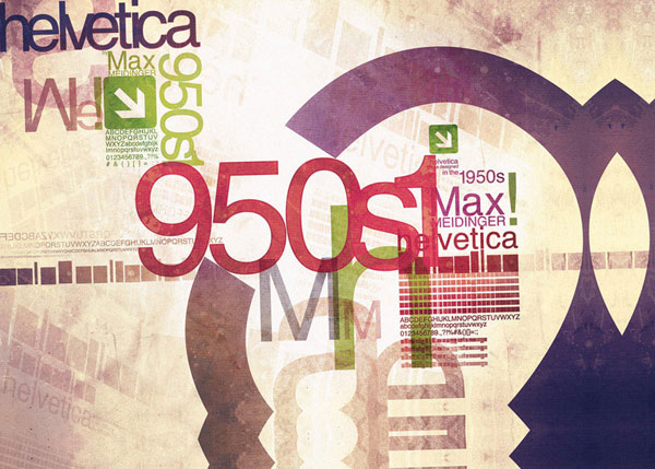 helvetica inspired poster All About Helvetica Font