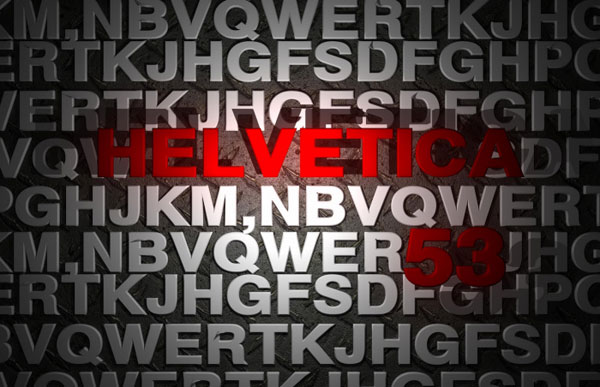 helvetica poster design All About Helvetica Font