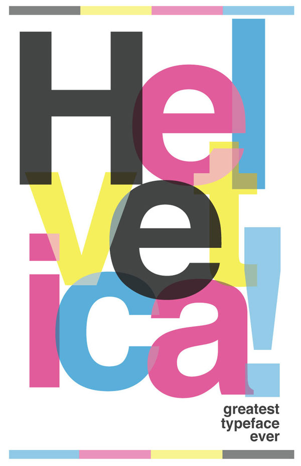 helvetica poster All About Helvetica Font