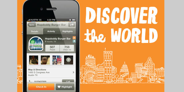 gowalla 40 Best Free iPhone Apps