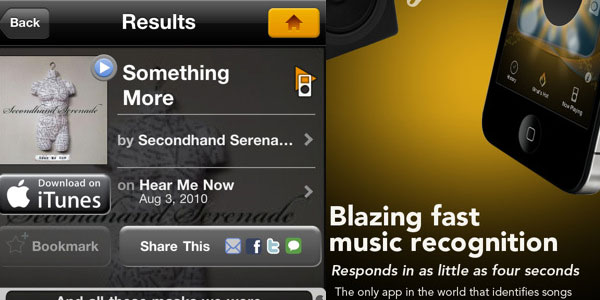 soundhound 40 Best Free iPhone Apps