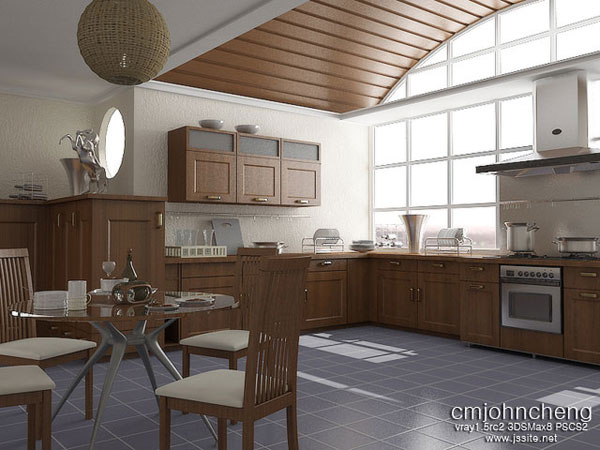 3d kitchen design 25 Beautiful Kitchen Decorating Ideas