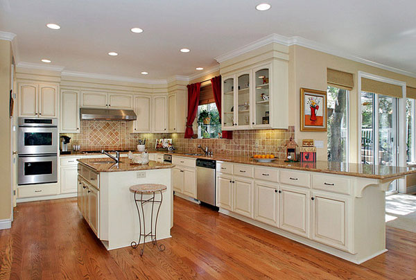 big kitchen simple design 25 Beautiful Kitchen Decorating Ideas