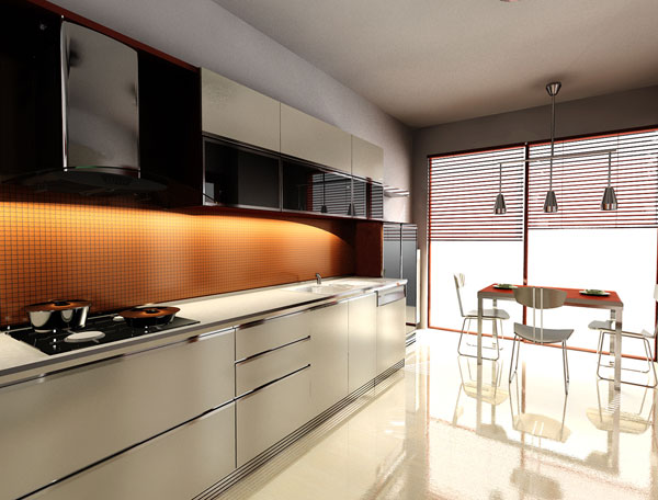 modular kitchen design 25 Beautiful Kitchen Decorating Ideas