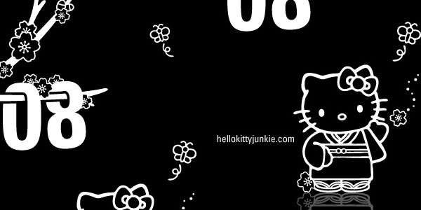 Hello Kitty Junkie Sakura iPhone Wallpaper