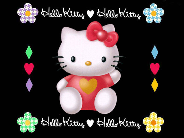 3d animated hello kitty wallpapers