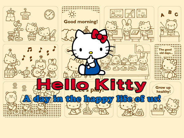 Cool hello kitty wallpaper