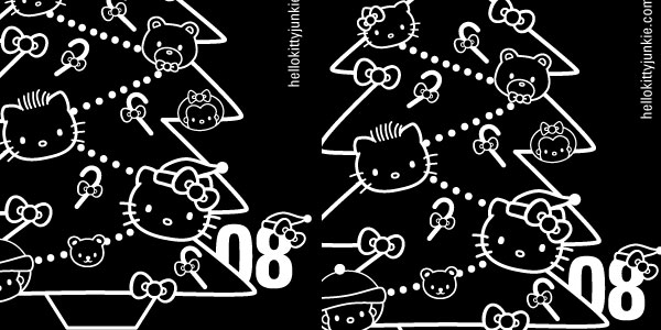 Hello Kitty Junkie Holiday iPhone Wallpaper