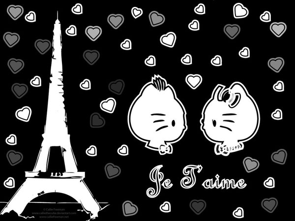 Hello Kitty Je T'aime