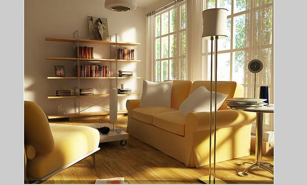 bright living room design 40 Cool Decorating Ideas For Living Rooms