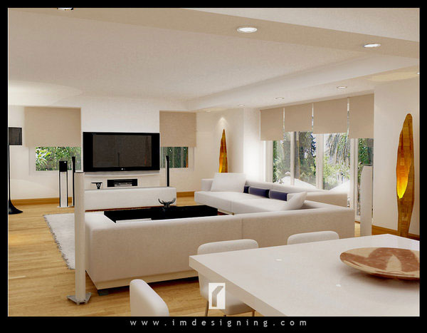 contemporary drawing room idea 40 Cool Decorating Ideas For Living Rooms