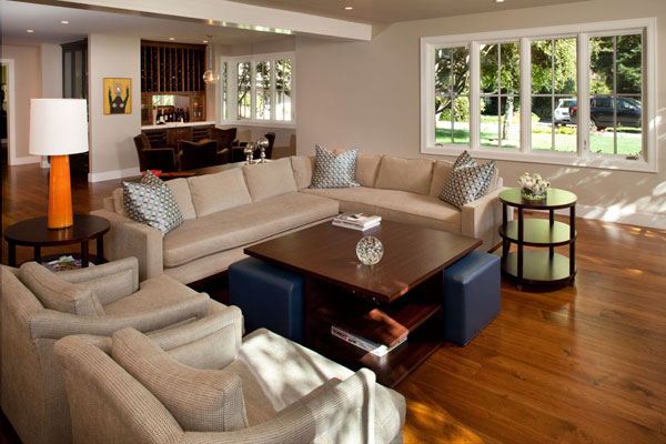 Beautiful Contemporary Decorating Ideas For Living Rooms. Contemporary Living Room