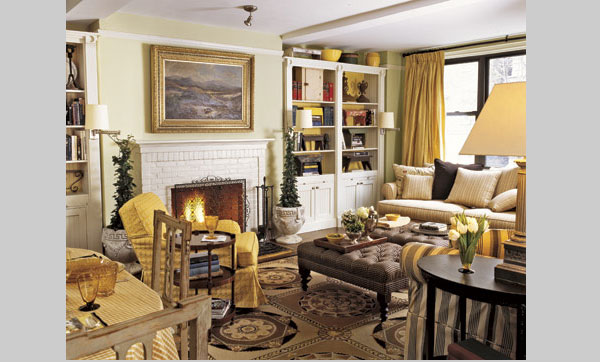 stylish fireplace design 40 Cool Decorating Ideas For Living Rooms