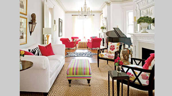 traditional living room 40 Cool Decorating Ideas For Living Rooms