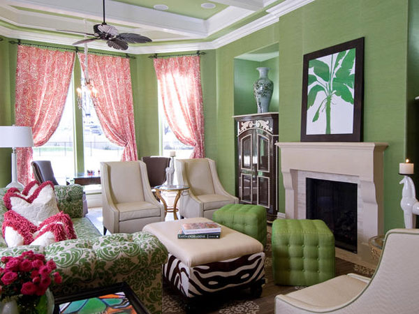 transitional living room 40 Cool Decorating Ideas For Living Rooms