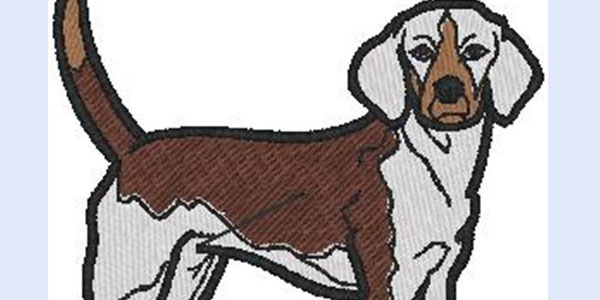free dog embroidery design 25 Free Machine Embroidery Designs