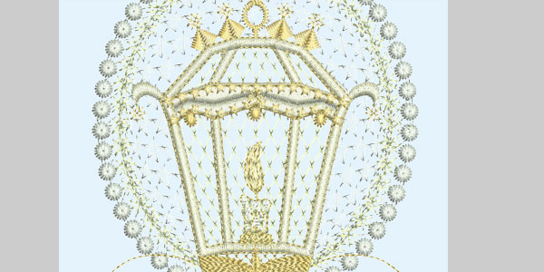 lamp embroidery design machine 25 Free Machine Embroidery Designs