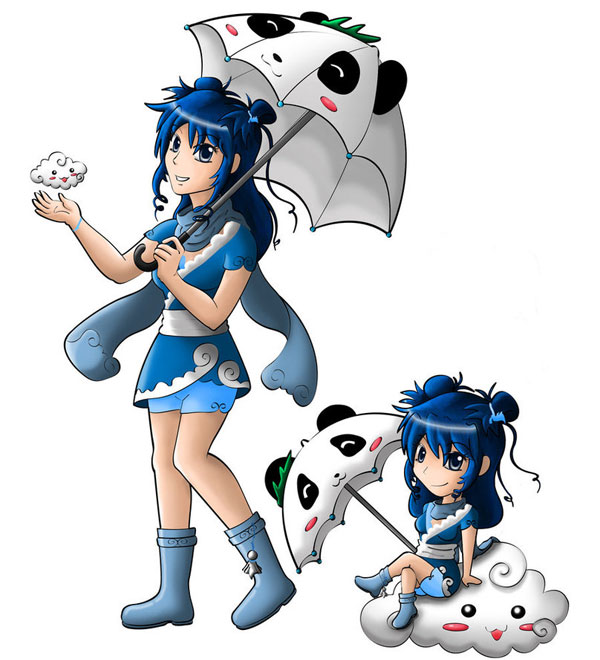 Kumoricon Mascot Entry 2011