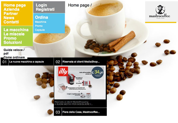 mastro coffee An Overview Of Backgrounds In The Overall Design Of A Website