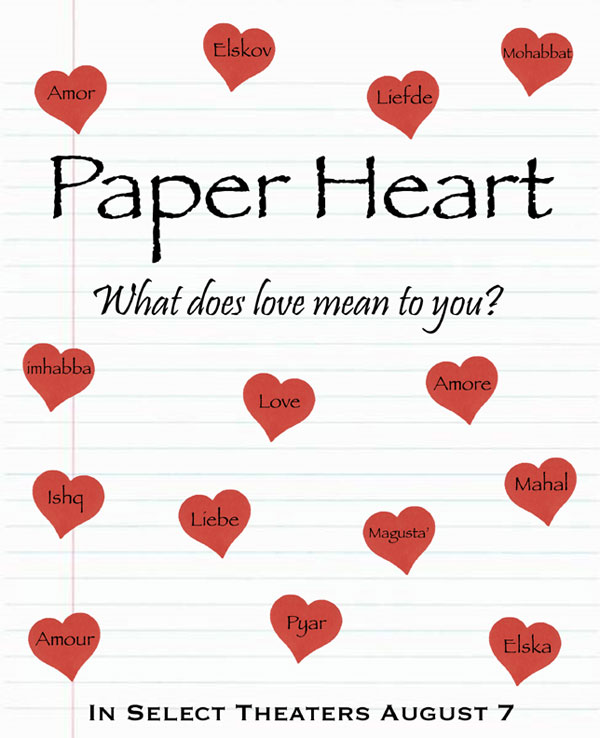 Paper Heart Entry - Languages