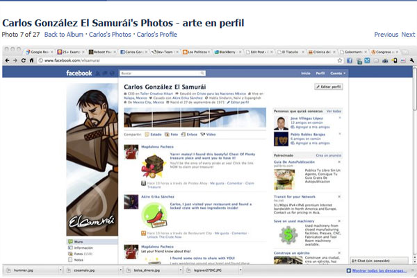 facebook profile interesting 20 Truly Awesome Profile Design Inspirations