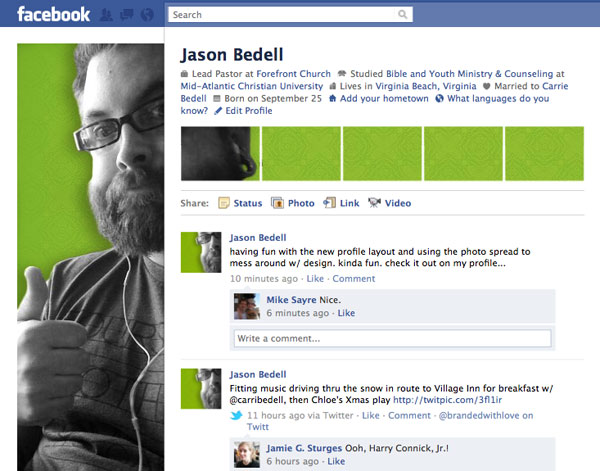 facebookprofiledesign 20 Truly Awesome Profile Design Inspirations