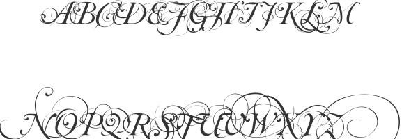 script fonts generator