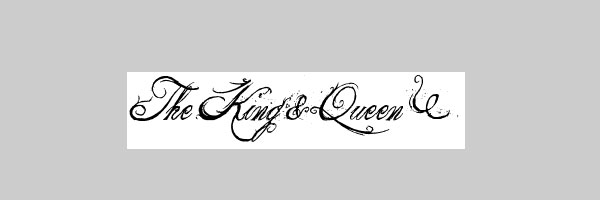 King And Queen Font By Weknow: Impressive Examples With Photos