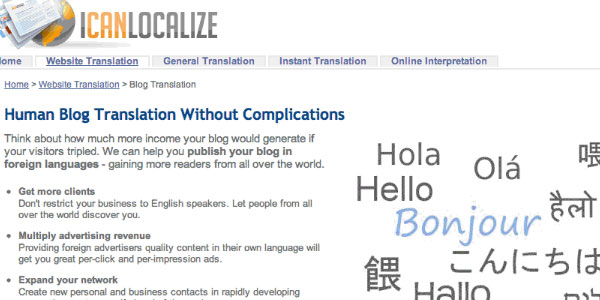 icanlocalize translator 10 Handy Translation Plugins For WordPress
