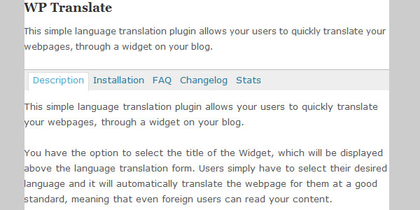 translate wp 10 Handy Translation Plugins For WordPress