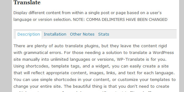 translate 10 Handy Translation Plugins For WordPress