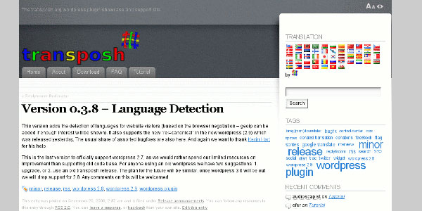 transposh translation filter for wordpress 10 Handy Translation Plugins For WordPress