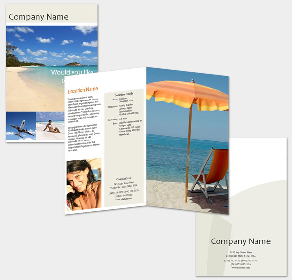 travel brochure template designs 30 killer collections slodive
