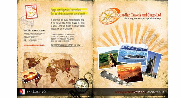 sample of travel brochures