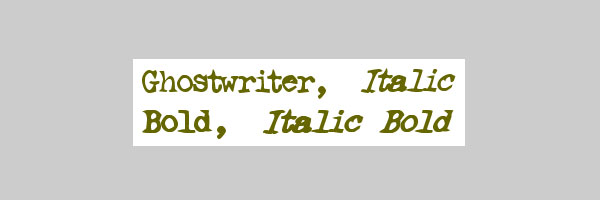 ghostwriter font 25 Free Typewriter Font Collection