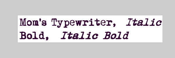 interesting typwriter font 25 Free Typewriter Font Collection