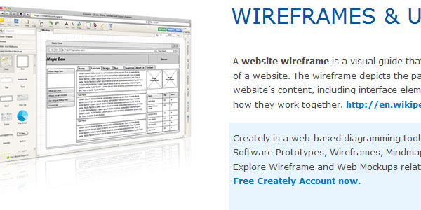 wireframes 30 Helpful Wireframe Tools