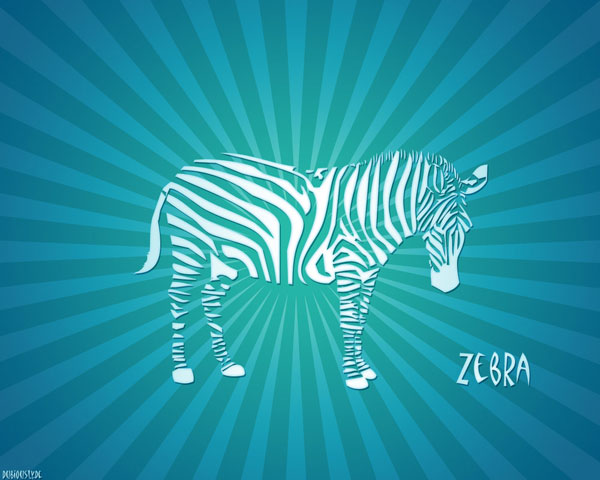 blue zebra wallpaper 25 Zebra Wallpapers