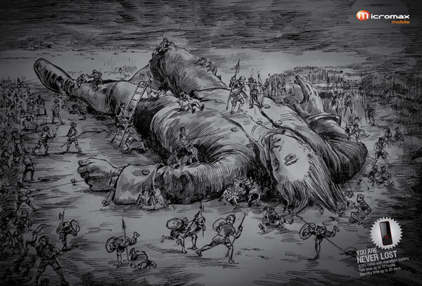 Micromax Mobile: Gulliver's Travels
