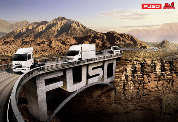 fuso bridge 20 New Advertising Ideas