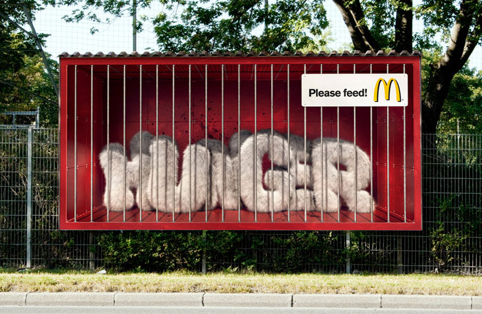 mcdonalds hunger 20 New Advertising Ideas